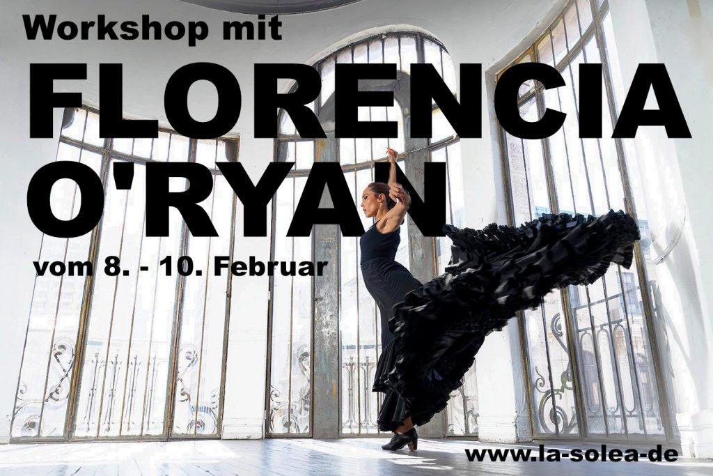 Workshop mit Florencia O'Ryan
