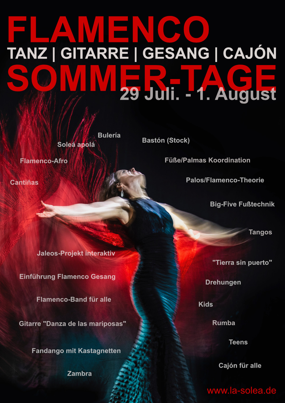 Flamenco Sommer Tage